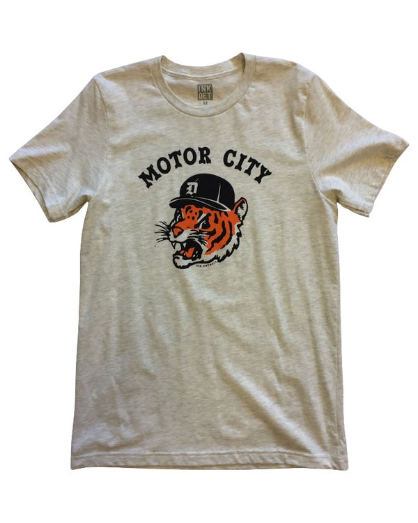 Ink Detroit Motor City Kitty T-Shirt