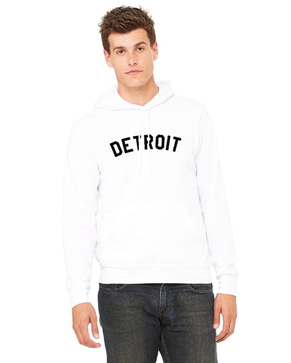 Ink Detroit Pullover Hoodie - White
