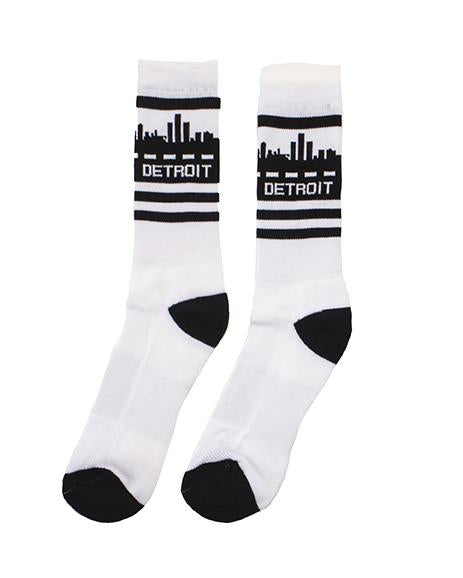 Ink Detroit Skyline Crew Socks