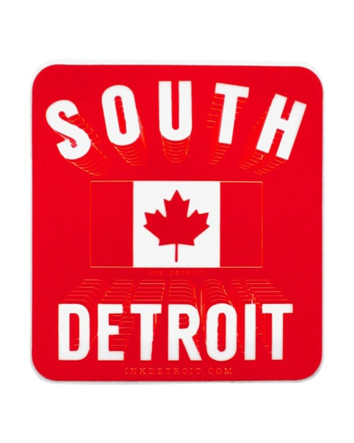 Ink Detroit South Detroit Die Cut Vinyl Sticker