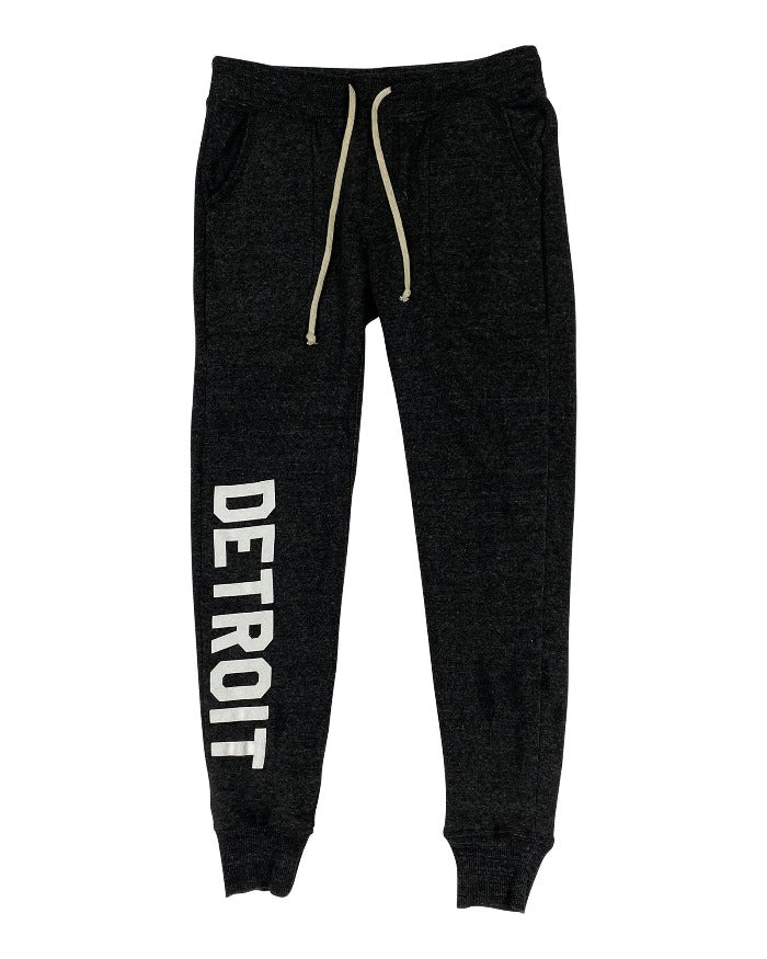 Ink Detroit Women's Jogger - Black