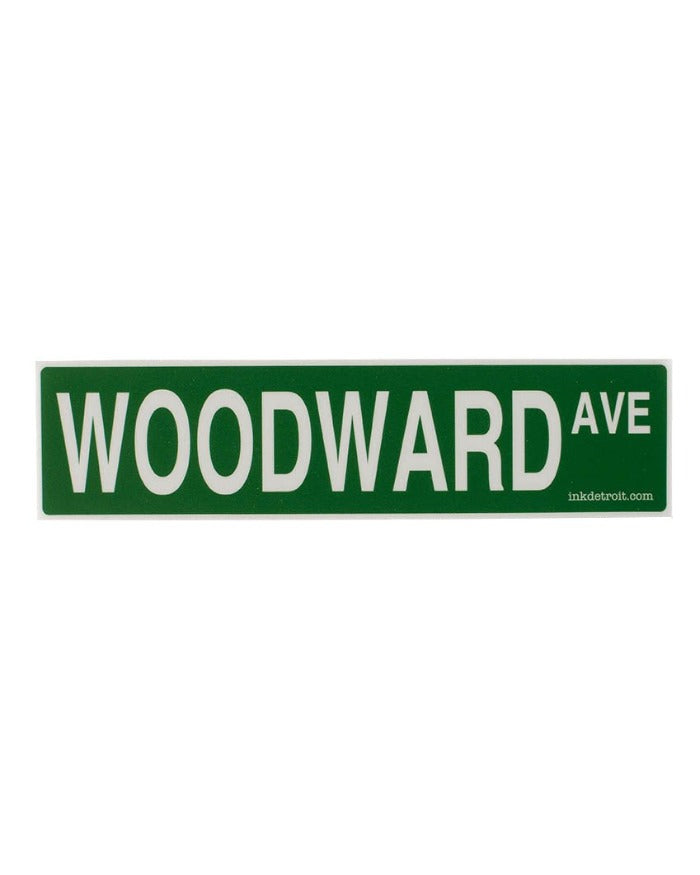 Ink Detroit Woodward Ave Die Cut Vinyl Sticker