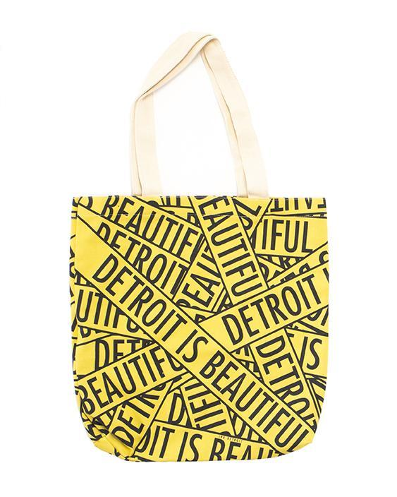Ink Detroit is Beautiful Tote Bag