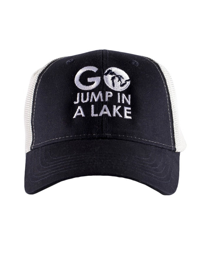 The Great Lakes State Go Jump In A Lake Hat