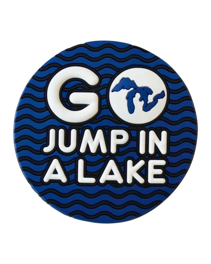 The Great Lakes State Go Jump In a Lake Magnet