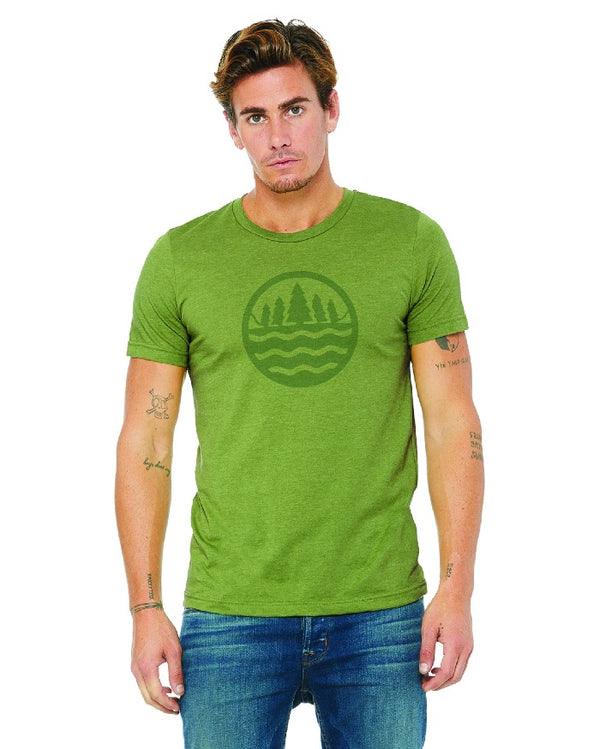 The Great Lakes State Logo T-Shirt - Green