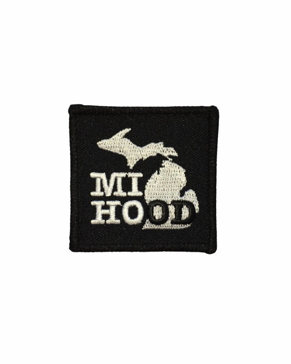 The Great Lakes State MI Hood iron on patch