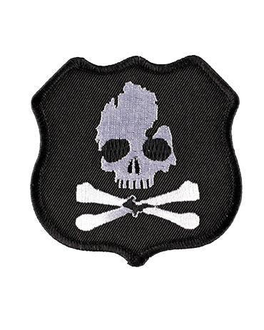 The Great Lakes State Michigan Skull & Bones Highway Pirate Patch