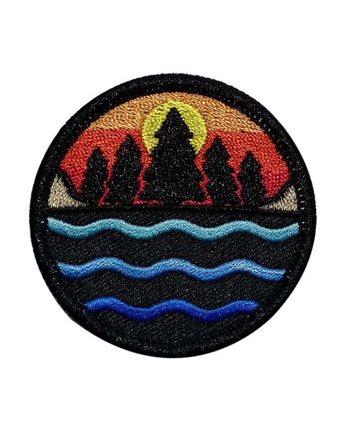 The Great Lakes State Multi Color Logo Iron on Patch