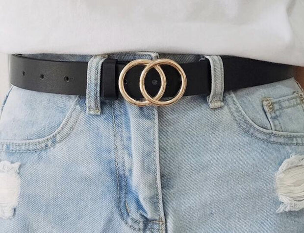 Lady O Ring belt - Le Royale Collection. Inc Boutique