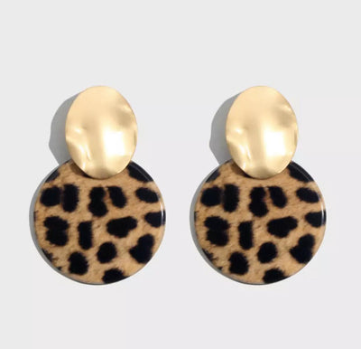 Wild 'n Cheetah  Earrings - Le Royale Collection. Inc Boutique