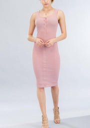 Slim & Shady Basic Summer Dress - Le Royale Collection. Inc Boutique