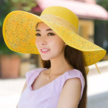 Load image into Gallery viewer, Sunny Side Up , straw Hat