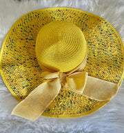 Sunny Side Up , straw Hat - Le Royale Collection. Inc Boutique