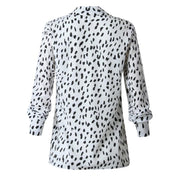 Lady love Cheetah Print Button Down Women Dress Shirt - Le Royale Collection. Inc Boutique