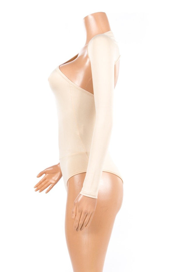 Laid  Back  Swan Leotard bodysuit Top