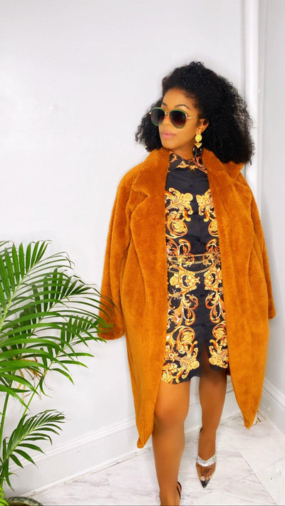 Millie Bear Claw Jacket - Le Royale Collection. Inc Boutique