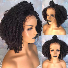 Load image into Gallery viewer, La Rosa Virgin Kinky Curly Wig