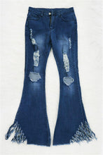 Load image into Gallery viewer, Triple Threat High Waisted Flare Jeans
