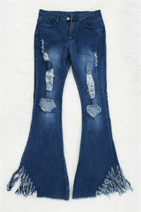 Triple Threat High Waisted Flare Jeans