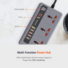 Porodo Fast Charging Power SOCKET & USB HUB