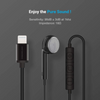 Powerology Single Mono Earphone with MFi Lightning Connector