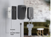 TAU 3in1 Power bank & Keychain by ROLLING SQUARE