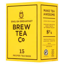 BREW TEA CO. ENGLISH BREAKFAST TEA