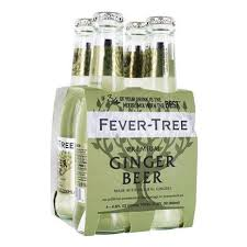 FEVER TREE GINGER BEER 4 PACK