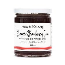 FOX & FORAGE SUMMER STRAWBERRY JAM 250ML