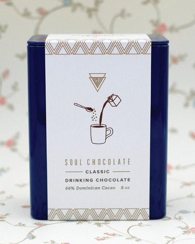 SOUL CHOCOLATE CLASSIC HOT CHOCOLATE TIN