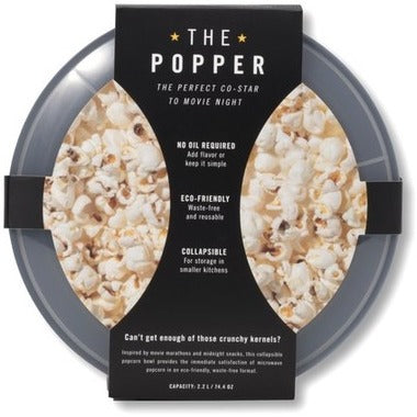 W&P THE POPCORN POPPER CHARCOAL