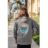 OG Loyal Grey Hoodie in Youth