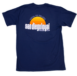 Unisex Sunrise T-shirt in Navy Blue