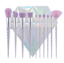 Load image into Gallery viewer, Unicorn Diamond brush set - Exquisite Cosmeticz