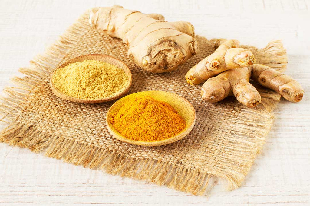Ginger and turmeric benefits