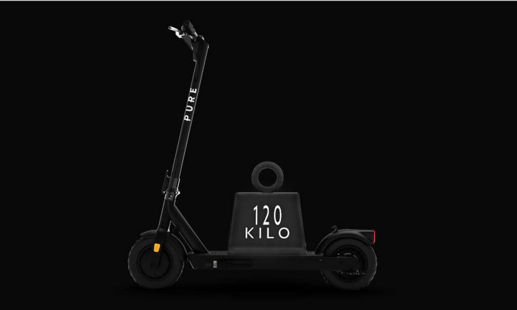 PURE AIR PRO Adult electric scooter max load 120kg