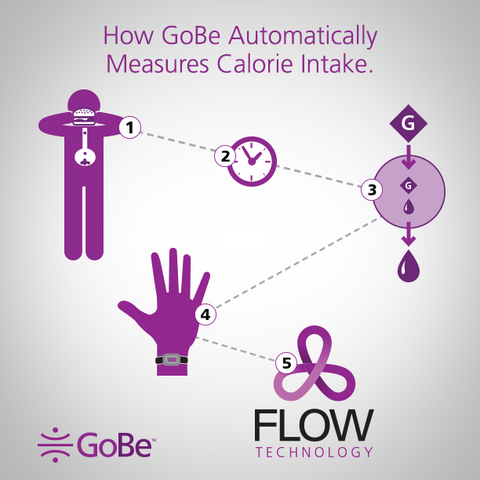 How Does Healbe GoBe Automatically Track Calorie Intake