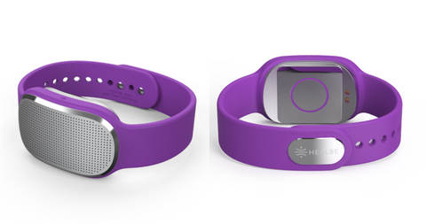 Healbe GoBe with purple band
