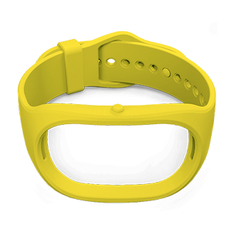 Strap for GoBe 2. Yellow