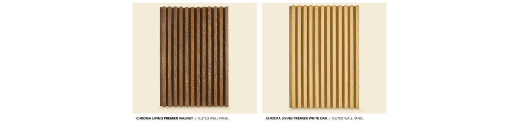 Materially Chroma Living Premier Fluted Panel Series