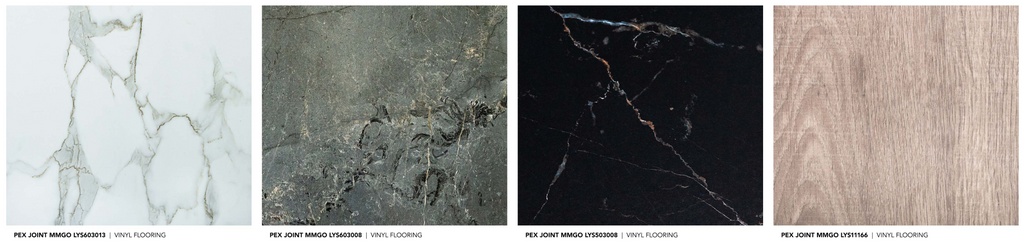 Materially Pex Joint MMGO Flooring Series