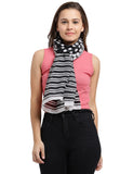 Striped Polka Scarf