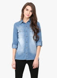 Karen Waltz Denim Shirt