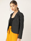 Striped Black Jacket