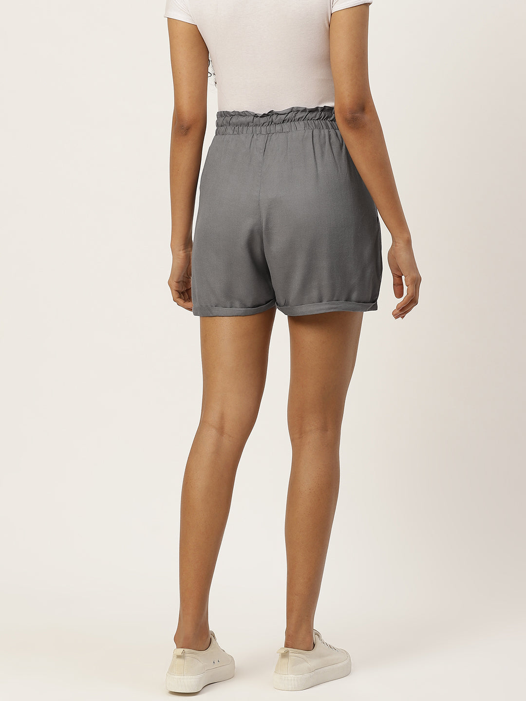 Grey Esssential Shorts