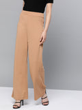 Nude High Rise Pants