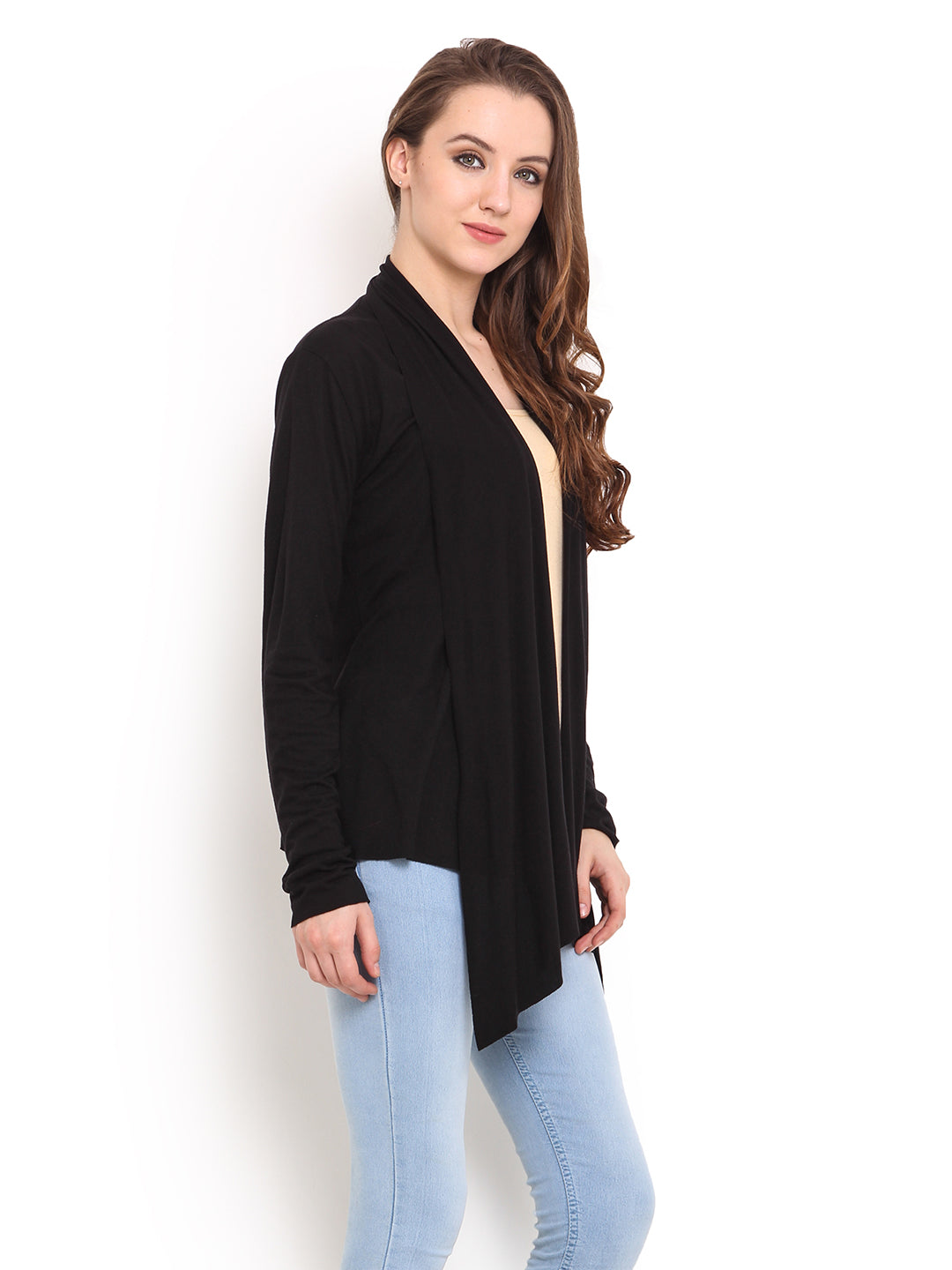 Women Black Shrug