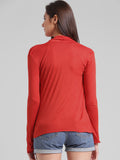 Women Red Shrug