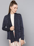 Women Blue Shrug